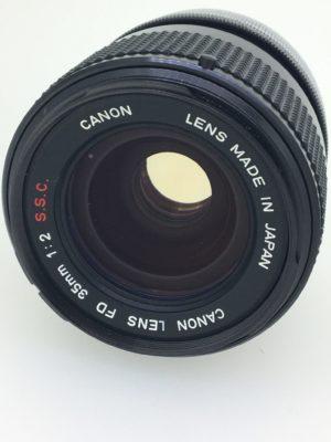 カメラレンズ CANON FD35mm 1:2.0のイメージ